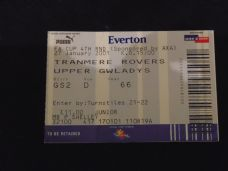 Everton v Tranmere Rovers, 2000/01 [FA] [tkt]